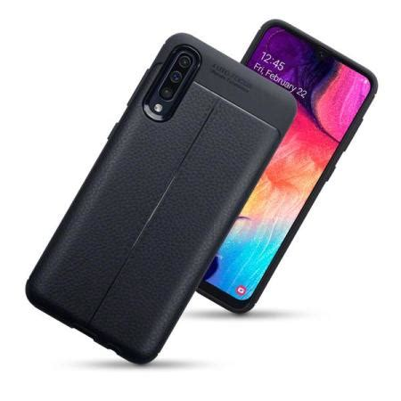 Samsung Galaxy A50 Keyboard by Olixar Attache Samsung Galaxy A50 Leather Style Black Mobile Ireland