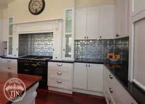 snowflakes silver kitchen splashback flair cabinets