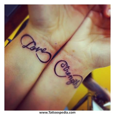 couples name tattoos couples tattoos