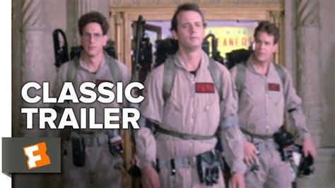 ghostbusters trailer 1984 youtube newhairstylesformen2014com ghostbusters 1984 trailer 1 movieclips classic
