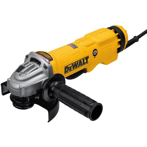 dewalt 13 corded 4 1 2 in to 5 in angle grinder with