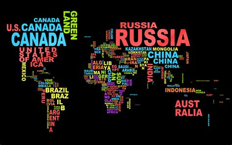 map with country names of the world 10 interesting facts about the world whatthafact