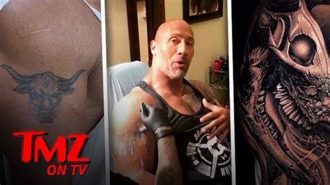 dwayne johnson tattoo bull dwayne johnson bull tattoo www pixshark com images