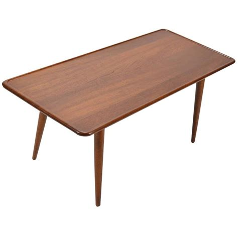 hans coffee table hans wegner coffee table by andreas tuck for sale at 1stdibs