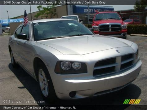2008 silver dodge charger bright silver metallic 2008 dodge charger package