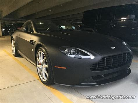 Aston Martin Michigan by Aston Martin Vantage Spotted In East Lansing Michigan On