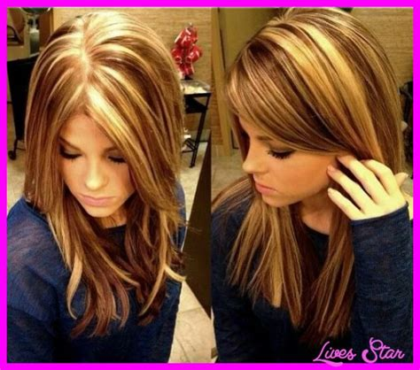 hair color types different types of highlights livesstar