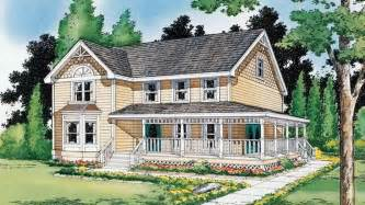 Farm Cottage Plans Houses Country Farmhouse