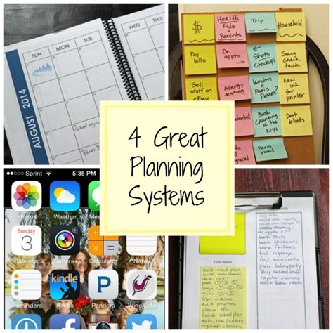 helping your kids get organized this new year 4 planning systems for the new school year planners for moms