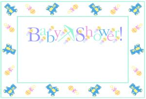 baby card template microsoft word baby shower invitations templates the grid system