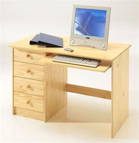 basika bureau bureau 4 tiroirs malte pin