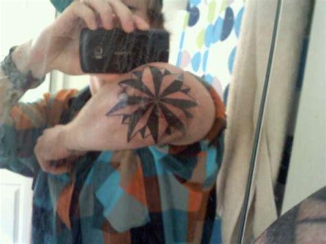 tattoo cover up nautical star nautical star on elbow tattoo