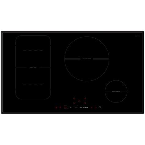 bellini cooktop bellini 90cm 4 zone b e s c induction cooktop bunnings