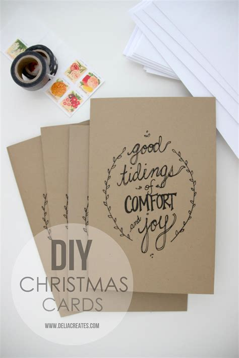 Enjoy These 12 Gift Cards On Us - send some holiday cheer with these 50 diy christmas cards