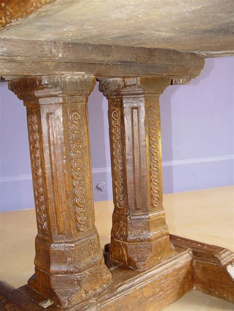 16th century wood table castle furniture at