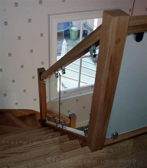 glass banister staircase glass balustrade panels design order online toughened