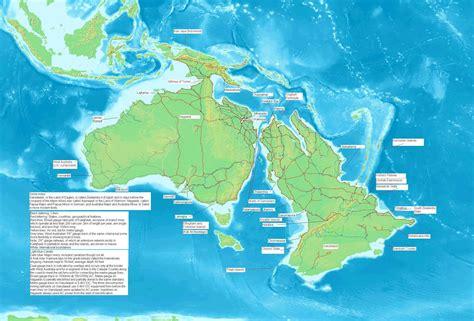 australia  zealandia    ice age