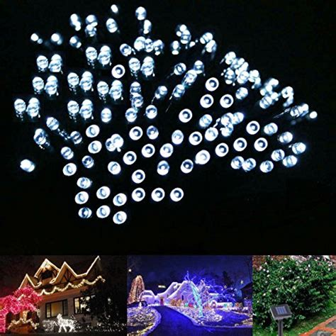 white solar lights 100 led white solar lights outdoor lights