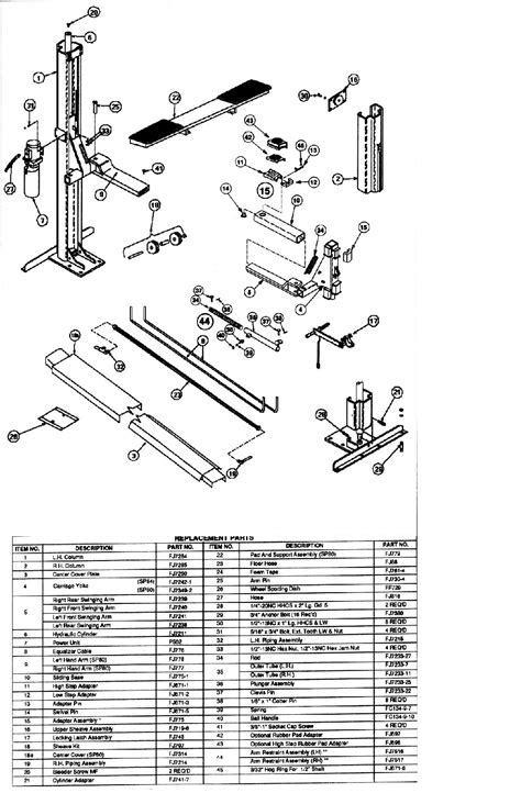 diagrams 819504 rotary 2 post lift wiring diagrams the