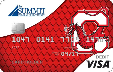 debit card  summit federal credit union