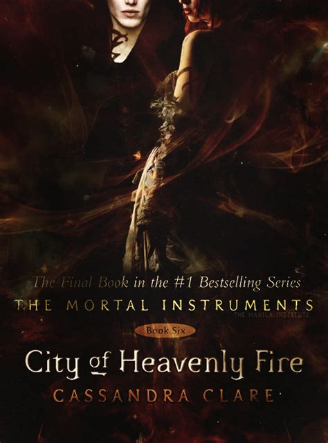 Novel City Of Heavenly Book Six fan made cover for city of heavenly the mortal instruments the infernal devices the