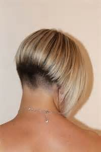 wedge haircuts front and back views short wedge hairstyles
