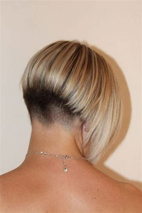 bob hairstyle cut wedged in back short wedge hairstyles