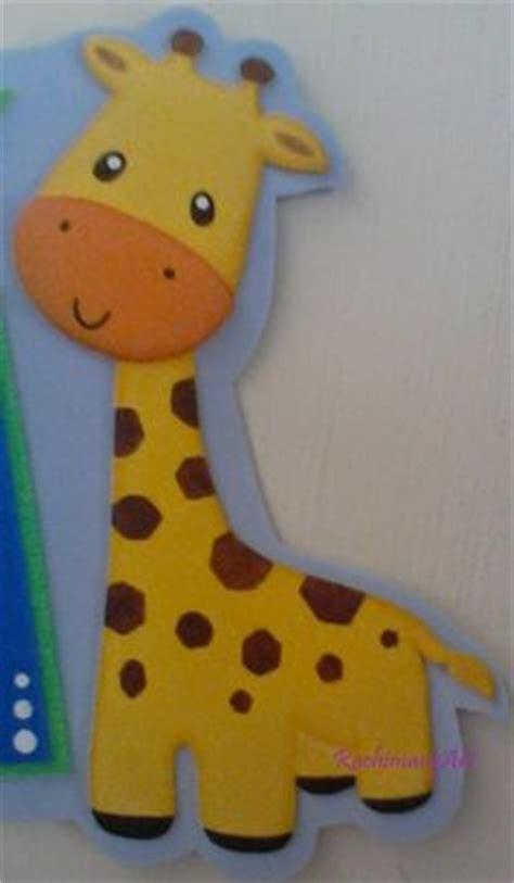 imagenes de jirafas en goma eva watches on pinterest
