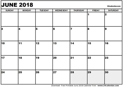 printable weekly calendar june 2018 journalingsage com june 2018 calendar monthly calendar 2017