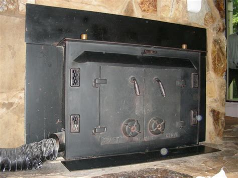 wood burning wood stove insert the trouble with wood burning fireplace inserts seaside