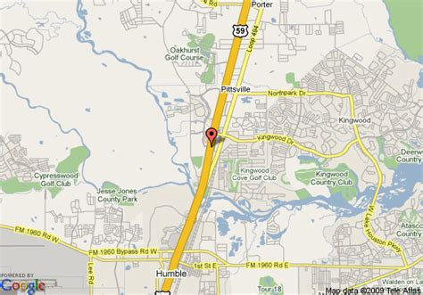 map of kingwood texas map of la quinta inn and suites kingwood humble