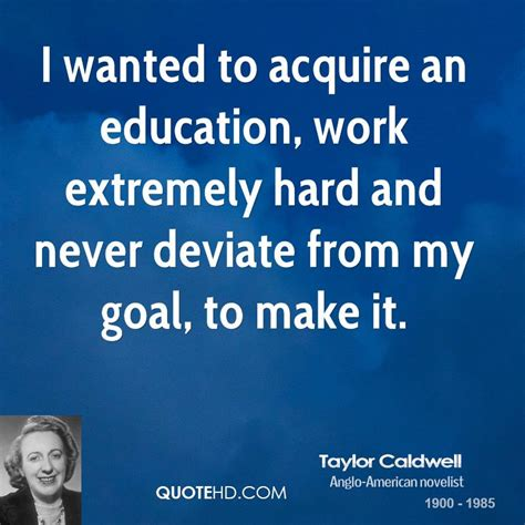 Where In Education Can I Work With An Mba by Caldwell Education Quotes Quotehd
