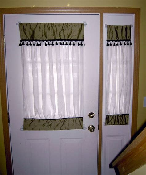 half window door curtains 7 best images about front door on pinterest door window