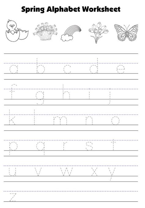 alphabet worksheets lowercase letters tracing lowercase letters worksheets tracing small