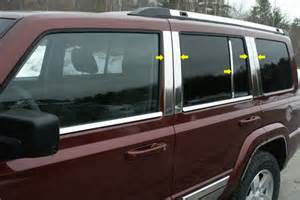 2006 Jeep Commander Accessories Saa 174 Jeep Commander 2006 2010 Pillar Post Trim