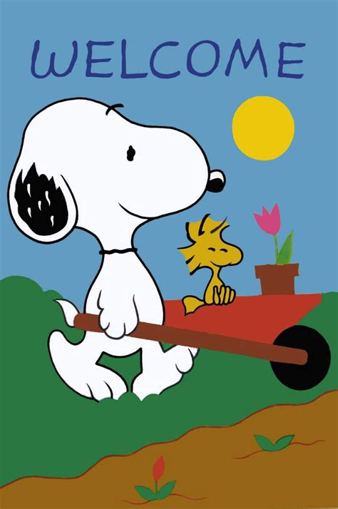 Color House Hours by Snoopy Welcome Home