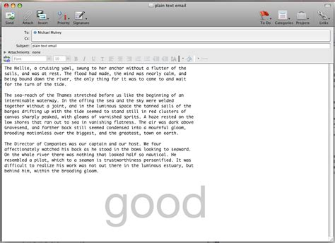 email format html or rich text free plain text email programs the best free software
