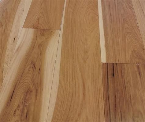 Solid Hickory Flooring by Bare Roots American Classics Hickory 6 Quot Wide