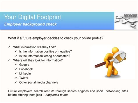 What Are Employers Looking For In A Background Check Your Digital Footprint In A Social Media World