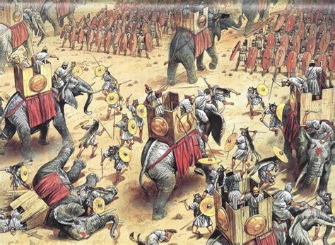 Gladiator Film Battle Of Zama   battle of zama 202 bc the success of the roman