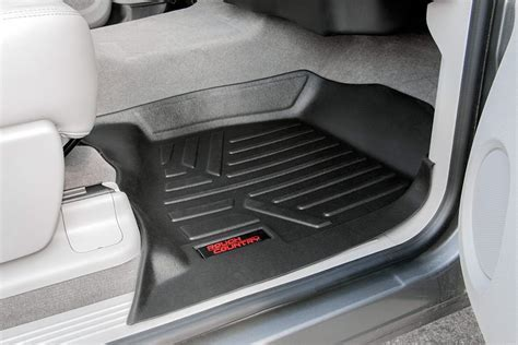 Heavy Duty Fitted Floor Mat Set (Front/Rear) for 2014 2018