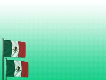 Mexico Flag 02 Powerpoint Templates Mexican Themed Powerpoint Template