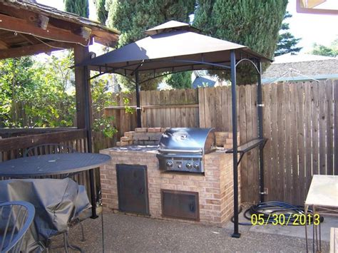 gazebo 4x6 build your own backyard grill gazebo diy grill gazebo