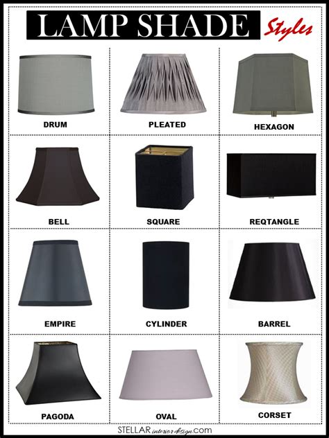 Online Home Decor Store lamp shade styles stellar interior design