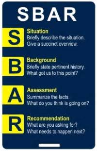 sbar form quotes