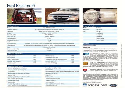 1994 1997 ford explorer brochure 1994 1997 ford explorer brochure