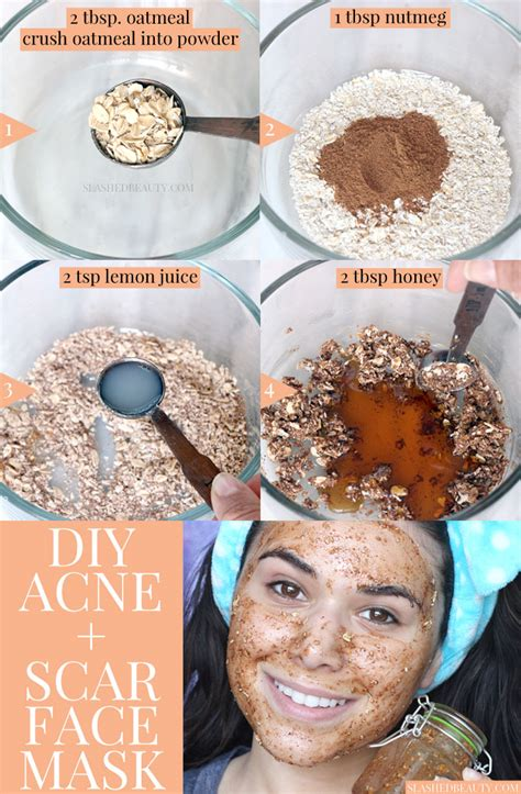 diy mask for acne scars best diy mask for acne scars slashed