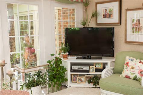 houzz tv show carolina garden sunroom tropical living room