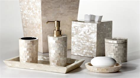 Luxurious Bathroom Accessories 15 Luxury Bathroom Accessories Set Home Design Lover