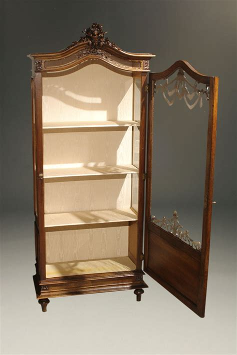 are curio cabinets out of style antique louis xvi style curio cabinet